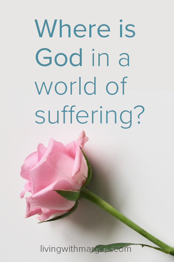 Simple truths that remind us that God is good, even when we are in the midst of suffering. #grief #suffering #whereisgod