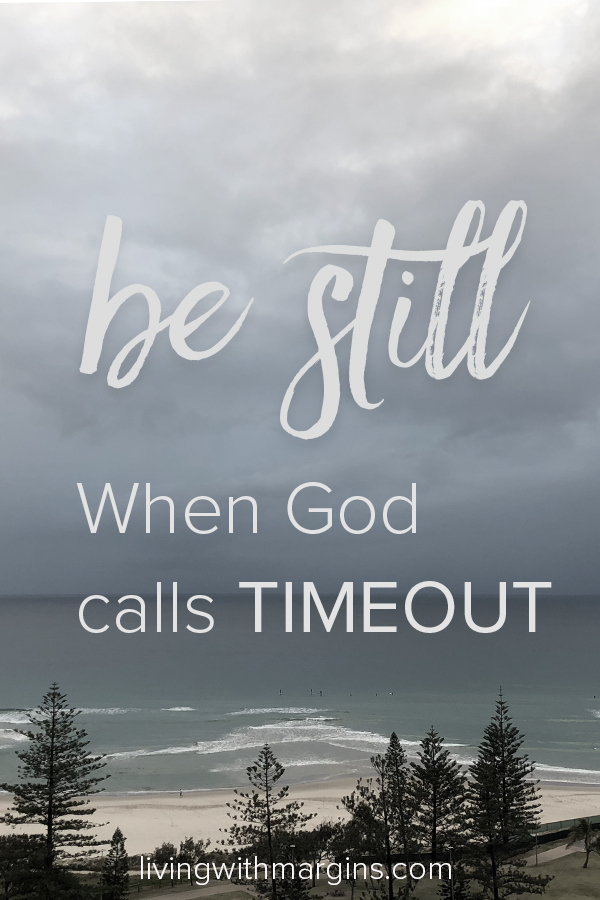 When my children were small I used to put them in timeout to settle down and think about what they were doing. Now as an adult, God calls us to the same thing. It's time to be still. #rest #retreat #mentalhealth #bestill
