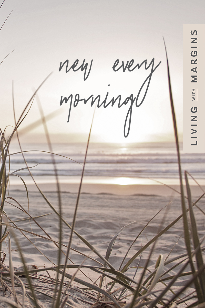 God's calendar has New Year's Day every single morning. #newyear #resolutions #disappointment #planning
