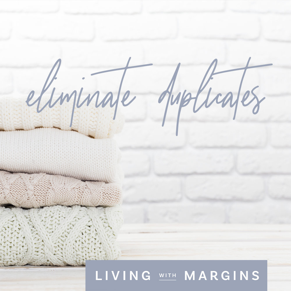 One of the simplest ways to overcome wardrobe clutter is to eliminate the duplicates. #minimalism #declutter #capsulewardrobe