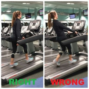 Image result for Take your hands off the rails during inclines on a treadmill