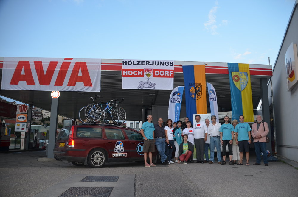 Our amazing German supporters in Horb am Neckar and Volmaringen