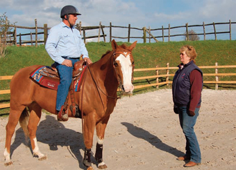 Western riding coaching