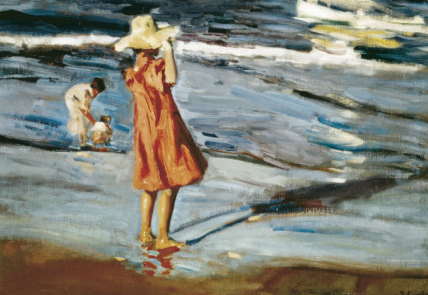 Joaquín Sorolla,   Children on the Beach