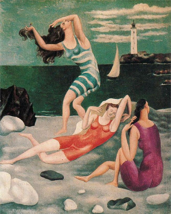 Picasso,  The Bathers