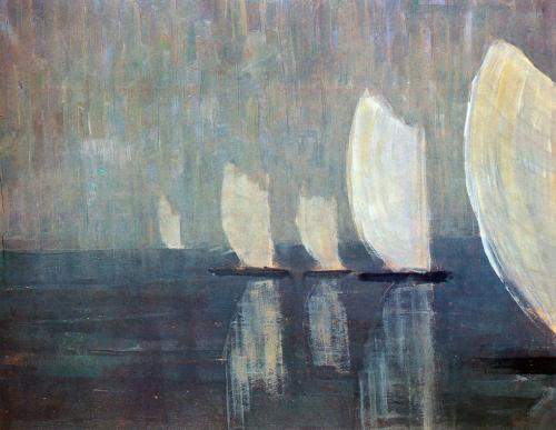 Mikalojus Ciurlionis,Sailing boats,1906