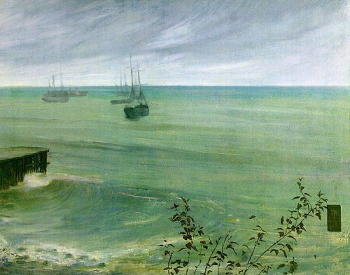 James McNeill Whistler, Symphony in Grey and Green: The Ocean ~ 1866-1872