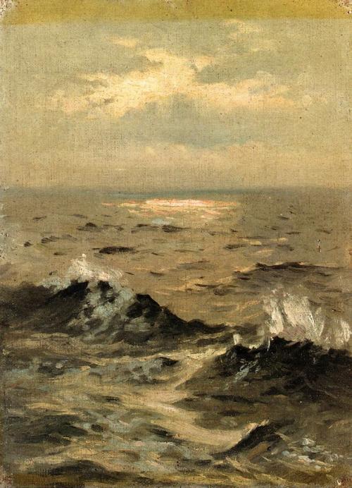 John Singer Sargent,Seascape, 1875