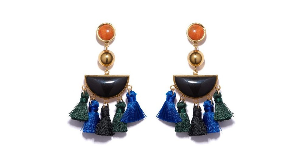 Earrings by Lizzie Fortunato Available here