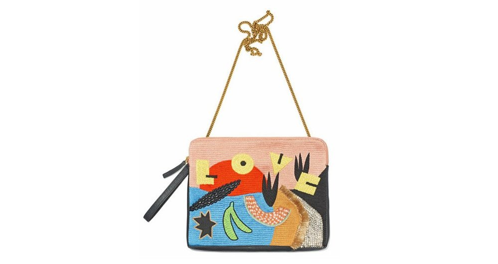 Clutch by Lizzie Fortunato Available here