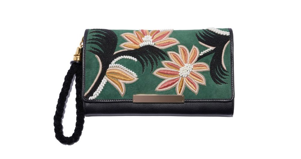 Clutch bag by Lizzie Fortunato Available here