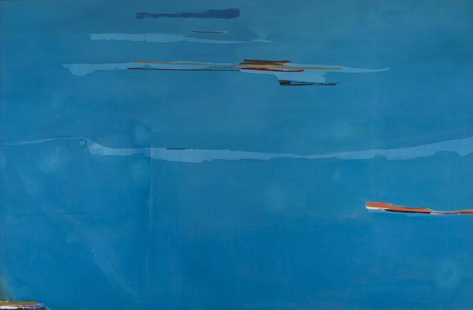 Helen Frankenthaler,Ocean Drive West #1, 1974
