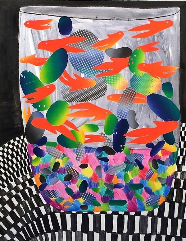 Karen Lederer,Fish Cup