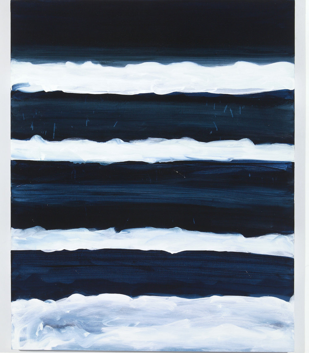 Mary Heilmann, Night Swimmer