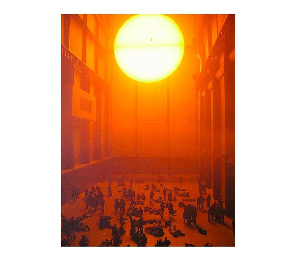 Olafur-Eliasson Sun-installation