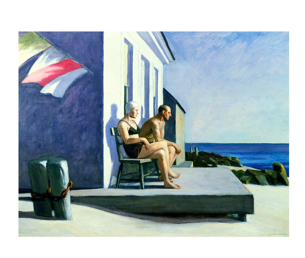 Edward Hopper,  Sea Watchers