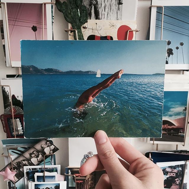 10/10 ! Merci 💦 💙 @justine.oiley_director #lovefromgreece #vintagecard