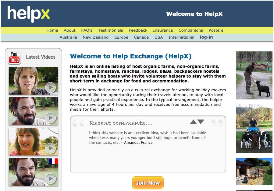 HelpX Home
