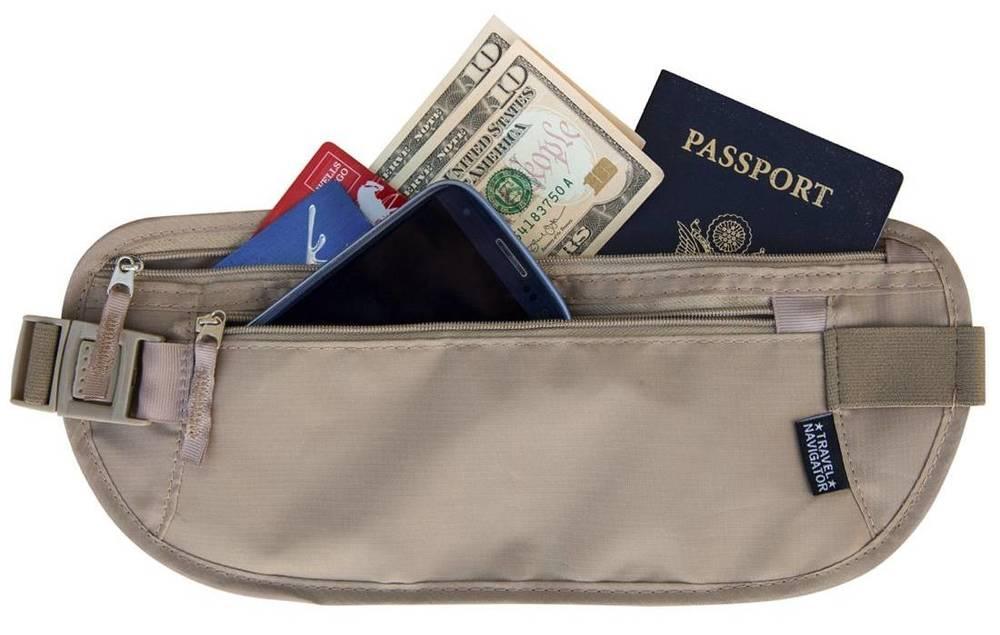 Money and Passport Belt