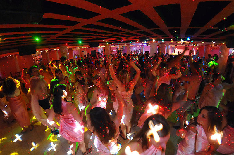Toga Party at The Pink Palace