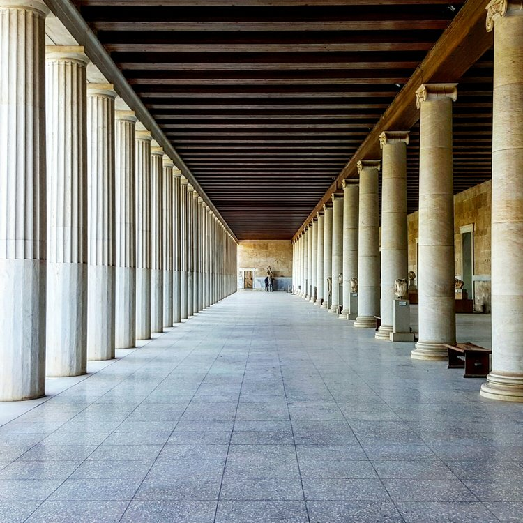 Stoa d'Attale Museum, Athens