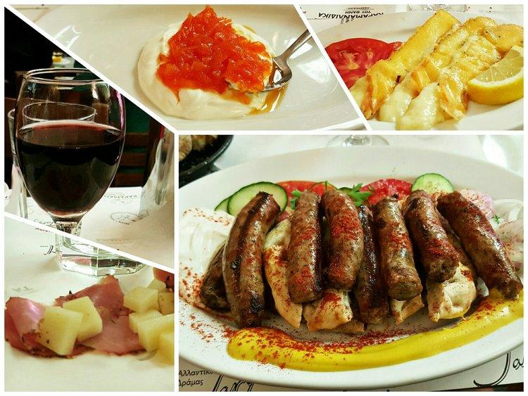 Greek Dinner in Karamanlidika