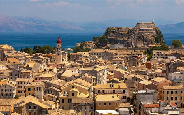 Ancient city of Corfu