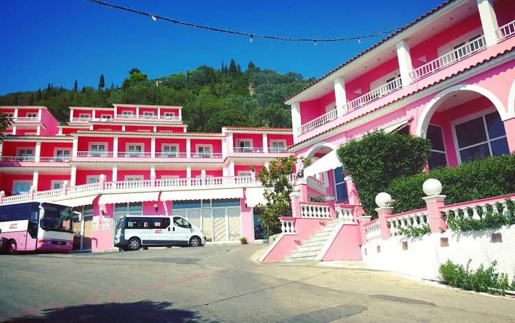 The Pink Palace Hostel, Corfu