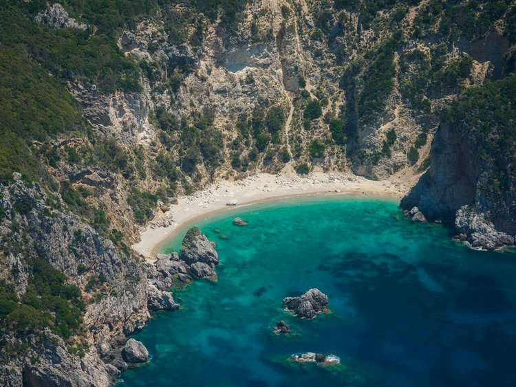 Corfu Hidden Beach