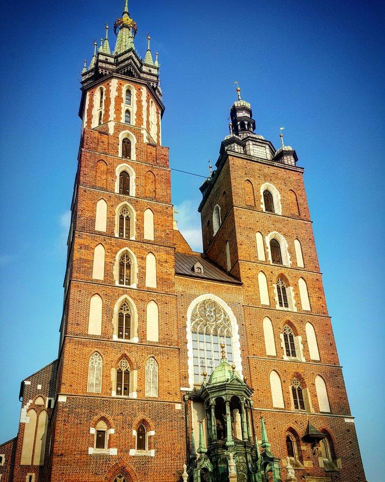 Basílica of Santa María, Krakow