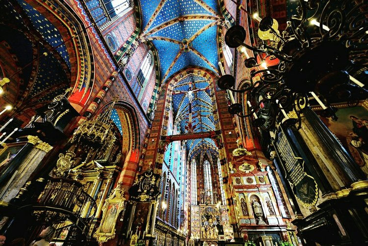 Basilica of Santa Maria, Krakow