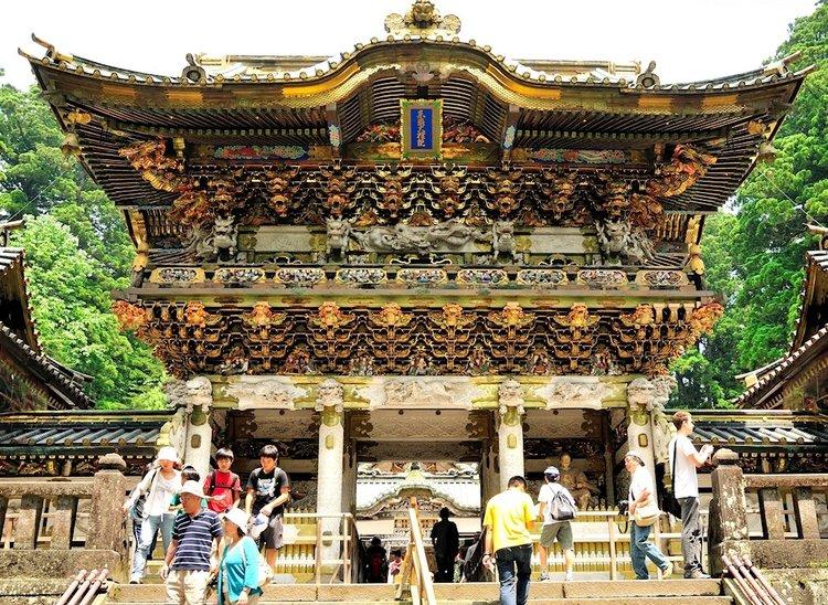Yomeimon Gate, Nikko