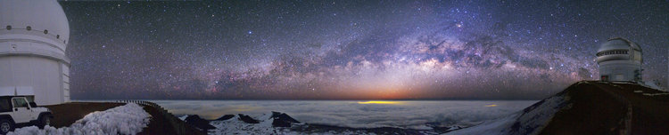 Milky Way from the Manu Kea