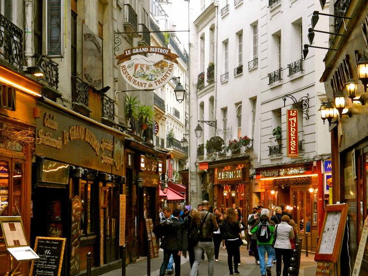 Latin Quarter of Paris