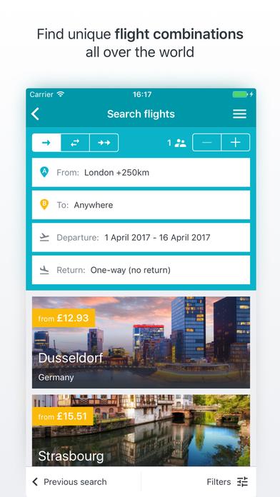 Kiwi.com Mobile App