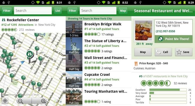 Trip Advisor App - City Guide