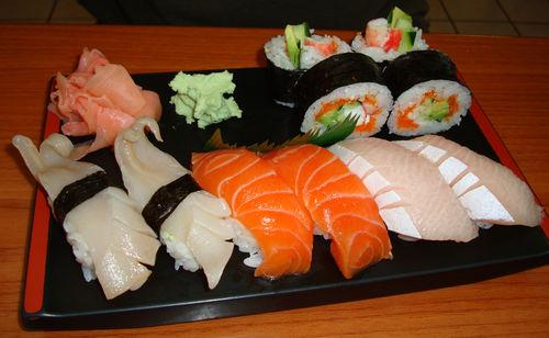 Sushi en Japón