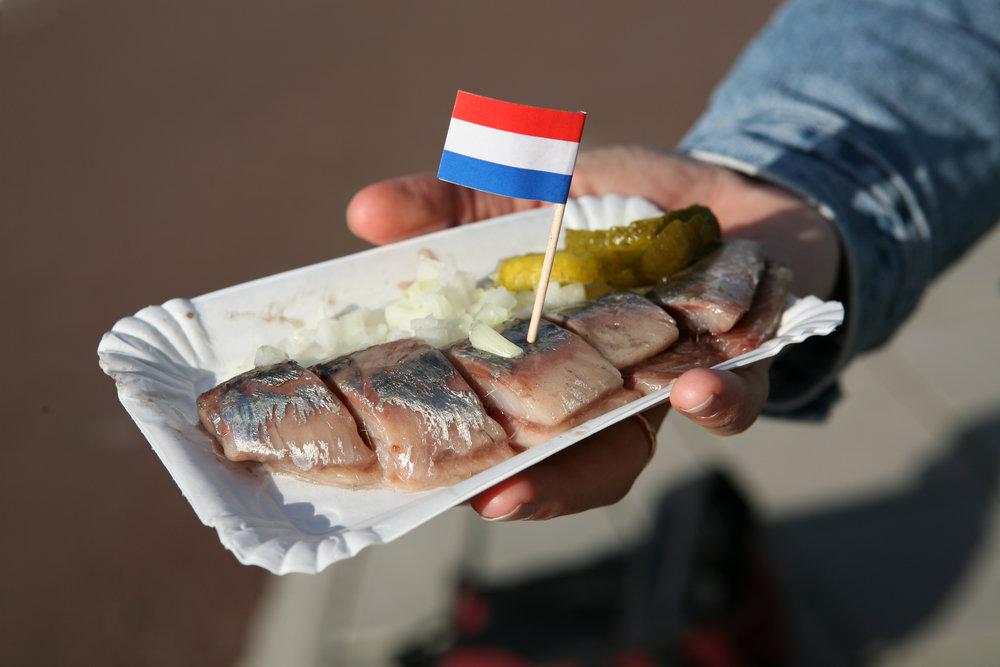 Herring en Amsterdam