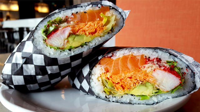 Sushi Burrito in the United States
