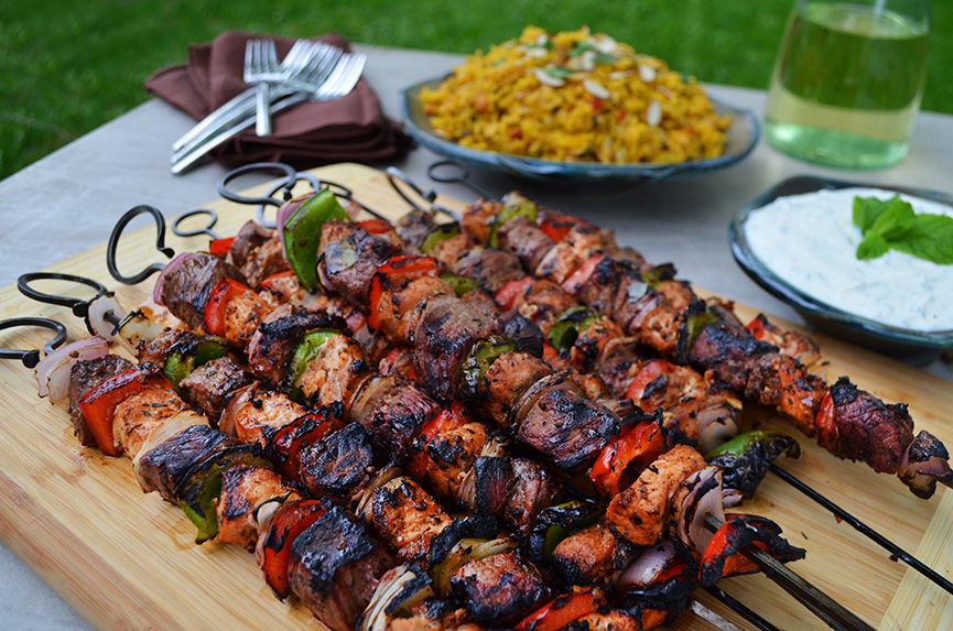 Shish Kebab in Turkey