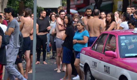 Sismo de menor magnitud despierta a la Ciudad de México