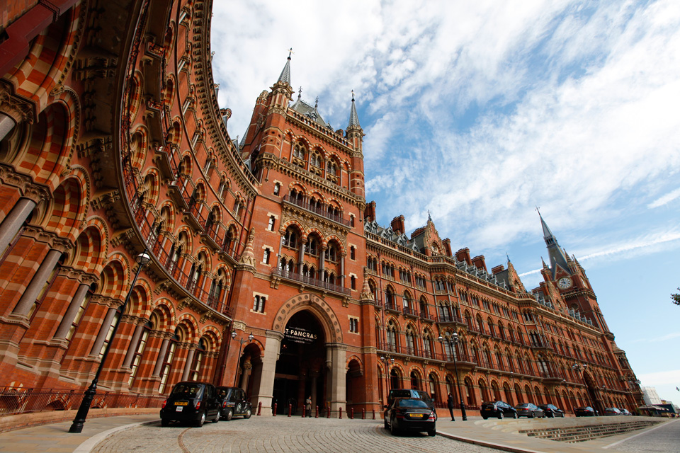 St Pancras Station, Londres