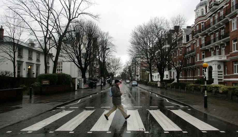 Abbey Road in London, The Beatles