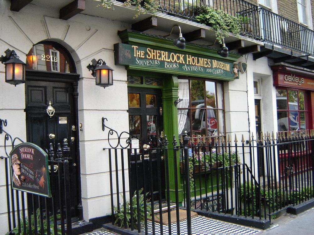 Baker Street in London, Sherlock Holmes