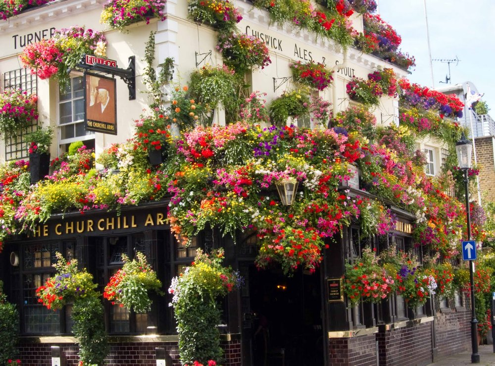 The Churchill Arms Pub