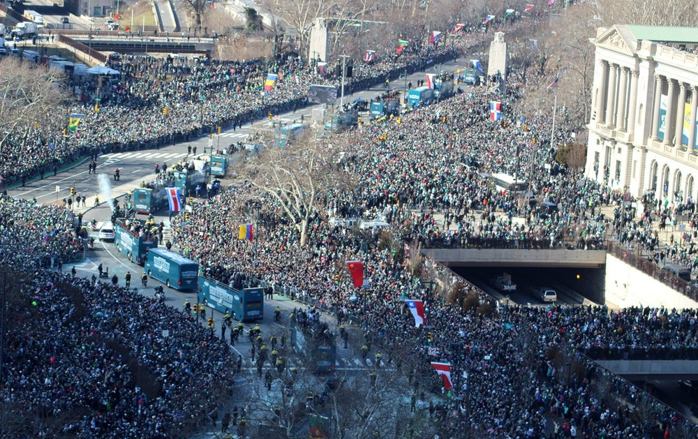 Eagles Parade