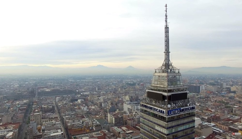 View from Torre Latinoamericana