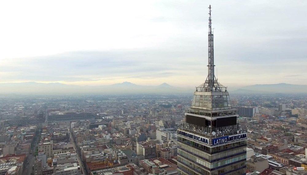 Vista desde la Torre Latinoamericana
