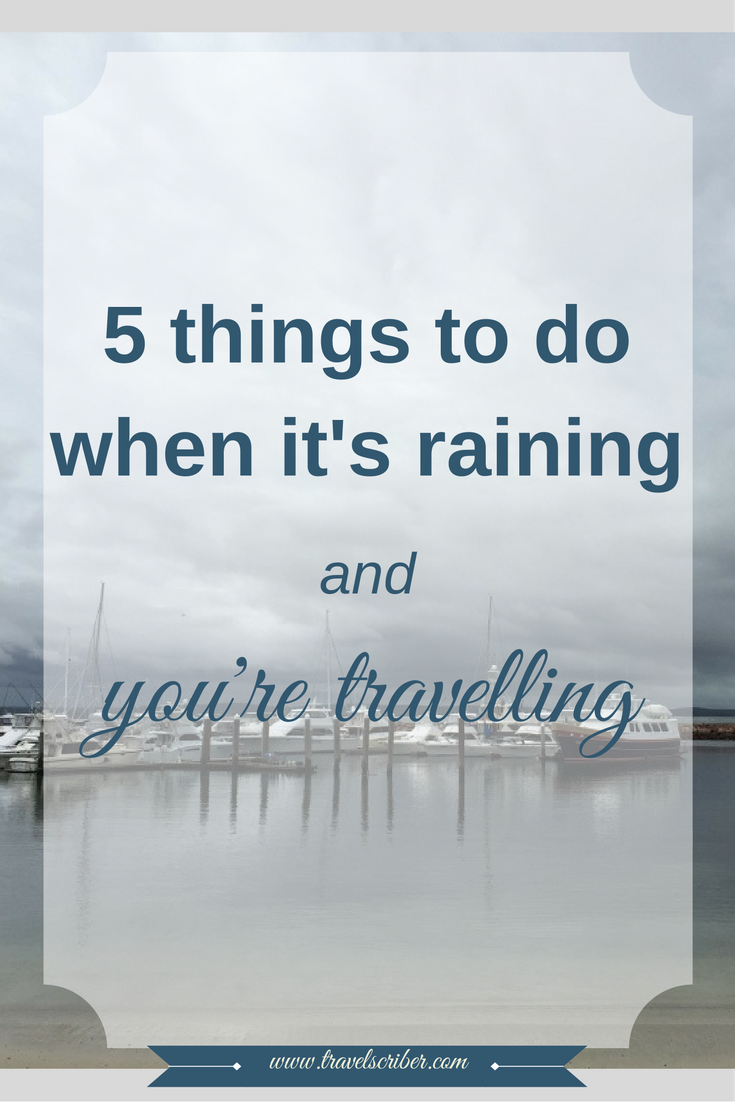 5 things to do when it's raining