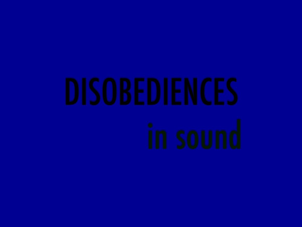 DISOBEDIENCES COLLECTIVE